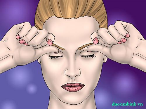 Phương pháp 5: Sử dụng phương pháp nén Glabella