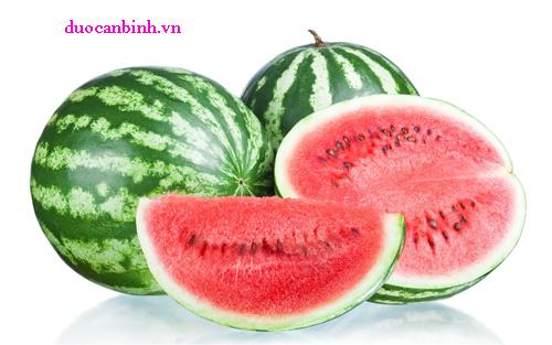 Dưa hấu là một nguồn tốt của Vitamin A, Vitamin C, Vitamin B6, magiê và kali.