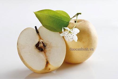 ăn táo trị rối loạn tiêu hóa