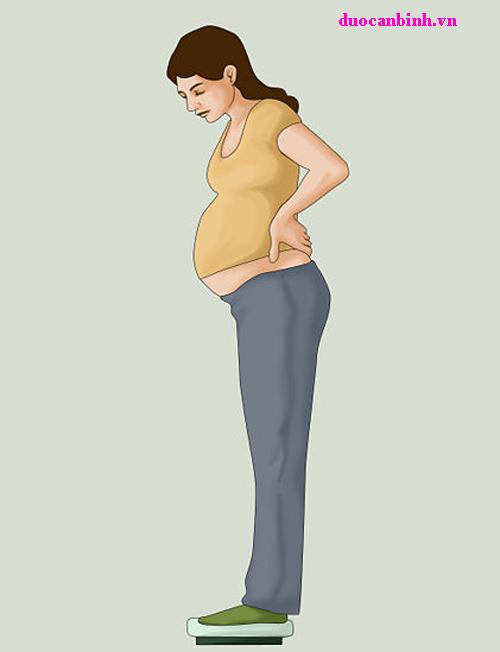 Kiểm soát cân nặng khi mang thai