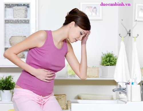 Rối loạn tiêu hóa là hiện tượng thường gặp ở bà bầu