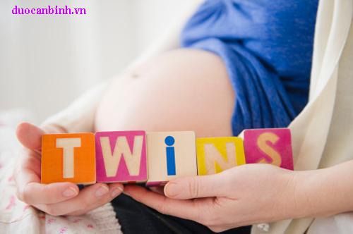 Dấu hiệu mang thai đôi