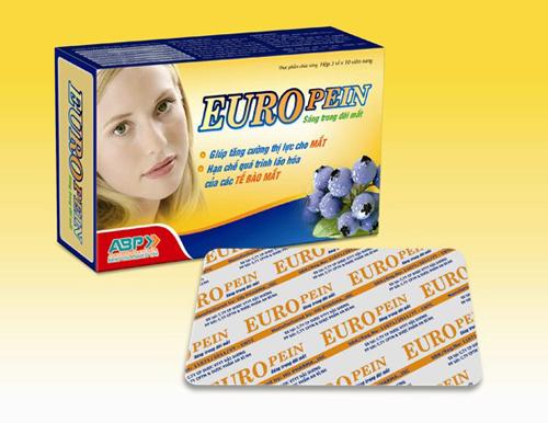 Euro Pein - Bổ mắt, chống lão hóa mắt