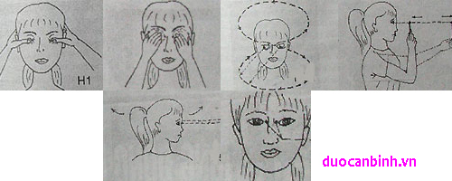 Một số động tác giúp mắt tinh tường hơn