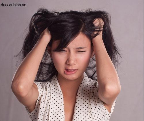 Bị ngứa da đầu