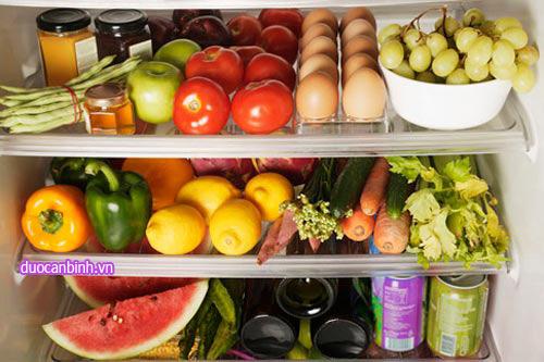 Những thực phẩm không nên cất trong tủ lạnh