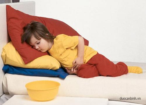 đau bụng ở trẻ em