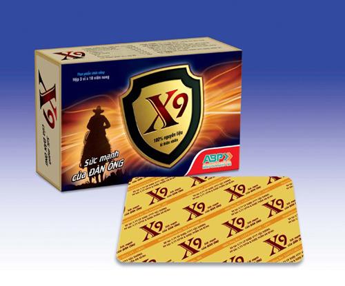 X9 - Hỗ trợ sinh lý nam