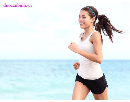 Tập thể dục giúp lưu thông khí huyết