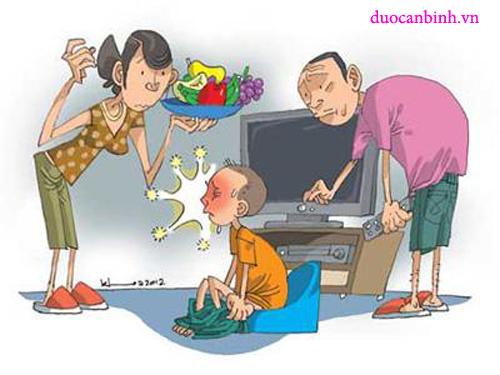 Trẻ bị táo bón