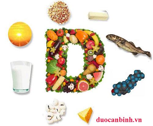 Các loại thực phẩm cung cấp vitamin D