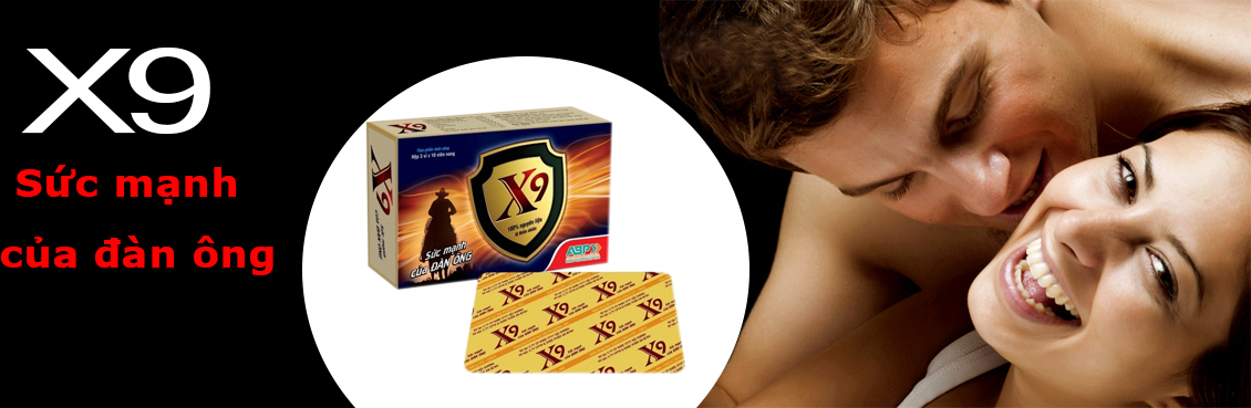 X9 Hỗ trợ sức khỏe sinh lý nam
