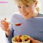 Bổ sung đầy đủ dinh dưỡng