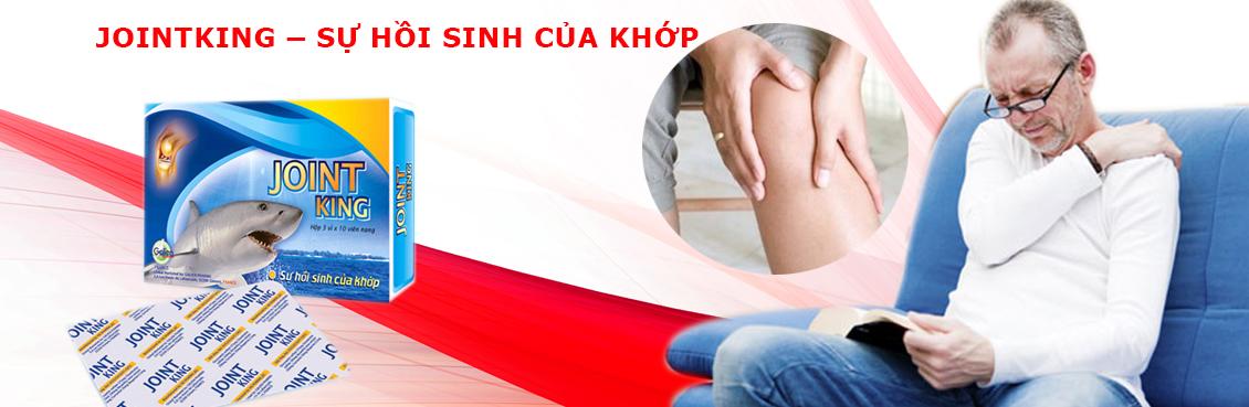 Jointking hỗ trợ điều trị viêm khớp