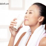 Sữa tươi giúp xương chắc khỏe