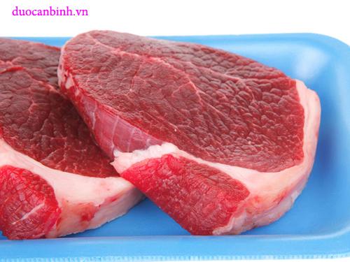 thịt bò tốt cho nam giới