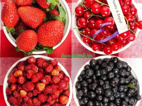 Các loại quả mọng