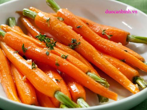 cà rốt tốt cho nam giới