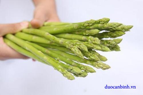 Măng tây ngăn ngừa loãng xương